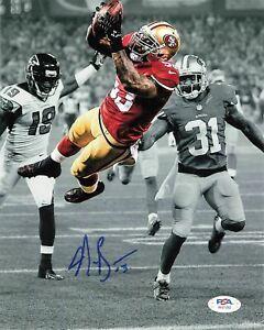 Navorro Bowman signed 8x10 photo PSA/DNA San Francisco 49ers Autographed