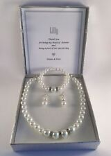 Pearl Silver Plated Simulated Fashion Jewellery
