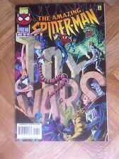 AMAZING SPIDER-MAN #413 WITH CARDS  NEAR MINT (W6)