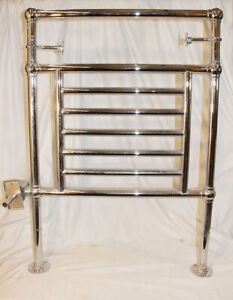 Myson B27-1 Aw Collection Hydronic Towel Warmer Wall Mounted Polished Chrome