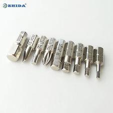 Hex Screwdriver Bit Set H2 H3 H4 H5 H6 H8 PH2 SL5 T25 nickel (manufacturer) 1set