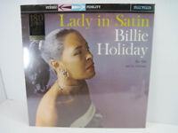 Billie Holiday Lady in Satin 180 Gram Limited Edition Import New Vinyl Sealed