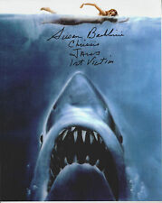 Jaws 1st Victim added autographed 8x10 Jaws photo (Chrissie)