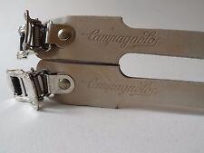 *Rare NOS Vintage 1980s Campagnolo white track/pista leather toe straps*