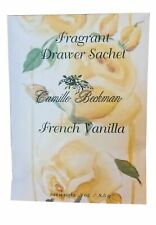 Camille Beckman Fragrant Drawer Sachet 0.3 oz – French Vanilla Scent