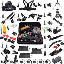 56 in 1 Professional Accessories Kit Bundle for Gopro Hero 4 3+ 3 2 1 SjCAM