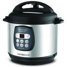Kambrook 6l Pressure Express Digital Multi Cooker KPR820BSS