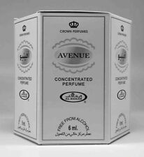 Avenue 6ml  by Al Rehab Best Seller Perfume/oil Attar New Collection BOX(6X6ML)