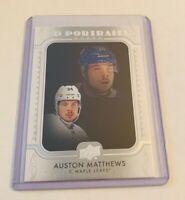 R43,552 - 2019-20 Upper Deck UD Portraits #P35 Auston Matthews Maple Leafs