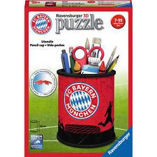 Ravensburger 3D Puzzle Organizer Utensilo FC Bayern München Stiftebox 54 Teile