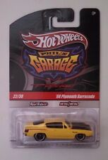 Hot Wheels-Phil's Garage-68 Plymouth Barracuda Yellow CHASE