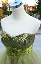 NWT SPEECHLESS $110 GREEN Evening Party Ball Dress 11