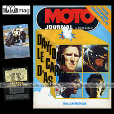 MOTO JOURNAL N°257 TRIAL CHARLES COUTARD MALCOLM RATHMELL GAUTHIER 125 CRITERIUM