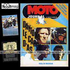 MOTO JOURNAL N°257 JOURNEE KAWASAKI GAUTHIER 125 CRITERIUM MONTESA COTA 247 '76