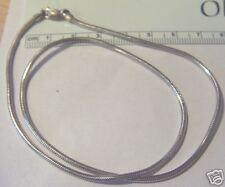 """24"""" Sterling Silver 1.5 mm Hvy 10 gram Snake Chain Men or Women"""