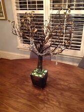 "Frontgate 42"" Lighted Manzanita Tree Bronze"