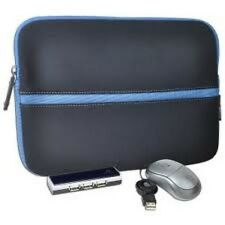 Targus BUS0187 Netbook Pouch Sleeve w Mouse USB Hub Combo