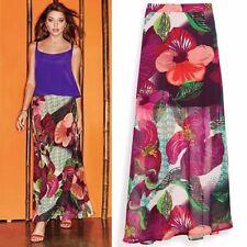 ~ Avon Mark ~ Orchid Show Maxi Skirt ~ Size M (6-8) ~ NIP ~ FREE SHIPPING ~