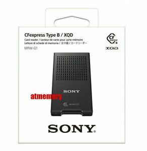 Sony CFexpress Type B / XQD Memory Card Reader USB3.1 MRW-G1 Genuine