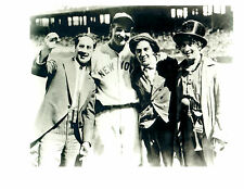 THE MARX BROTHERS GROUCHO LOU GEHRIG NEW YORK YANKEES  8X10 PHOTO BASEBALL HOF