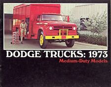 1973 Dodge Medium-Duty Truck Brochure Conventional/Chassis Cabs/Cab Forward LCF