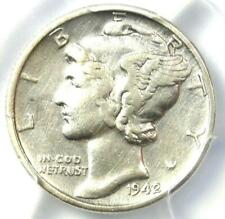 1942/1 Mercury Dime 10C - PCGS XF Details (EF) - Rare Overdate Variety Coin!