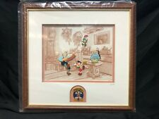 Disney's Pinocchio 60th Anniversary Framed 5 Piece Pin Set | Numbered: 63/1940