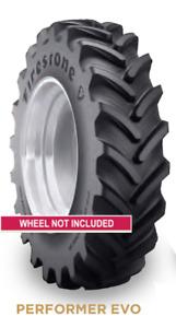 2 New Firestone Tires 420 85 28 Performer Evo R1W 420/85R28 Radial ATDFS