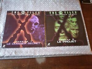 2 laserdisc The x files