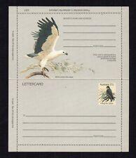 Australia Postal Stationery Lettercard - Mint - Peregrine Falcon 27c