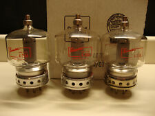 3 Eimac 4-250A Vintage 250-Watt Transmitting Vacuum Tubes Type 5D22 Guaranteed