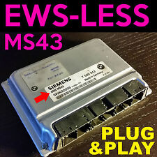 BMW Replacement DME ECU with EWS DELETE TUNE 325 325i 325xi 330i 330 X5 MS43 M54