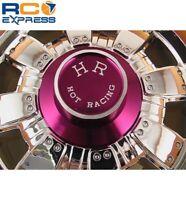 Hot Racing Purple Wheel cap for 40 wheels WHC2307