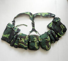 Surplus Set Chinese Paratroopers Type 99 Chest Rig Magazine Pouches Knapsack Bag