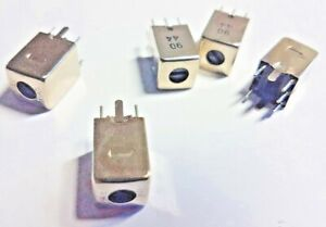 VARIABLE INDUCTOR COILS. x 5pcs   2.5mH +/-6%Min