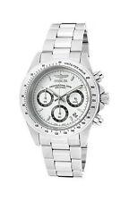 Weiße Invicta Armbanduhren mit Chronograph