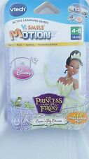 Tiana's Big Dream V.Smile The Princess & The Frog Disney Princess Learning Game