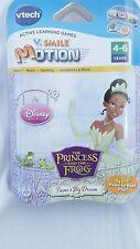 Tiana's Big Dream V.Smile The Princess & The Frog Disney Princess Learning Game
