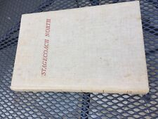1941 1st Edition STAGECOACH / Vermont History By W Storrs Lee
