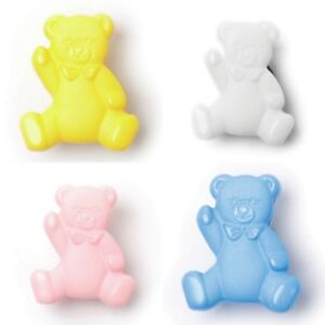 Teddy Bear 16mm Cute Shank Buttons - 4 Colours - Fast Dispatch  & Free Postage