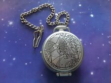 DOCTOR WHO 10TH TENTH ELECTRONIC POCKET FOB WATCH LIGHT & SOUND TOY LOOSE