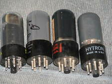 4 6V6GT (FOUR) (tested)  #30 & #41 Radio TV Tubes 6 nice tubes for 1 money!
