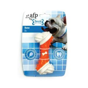 Dog Chew Bone Orange Chicken Flavour Taste Dental Puppy Chews Rigid