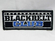 MARTIAL ARTS INTERNATIONAL BLACK BELT CLUB Karate Set of 2-NEW