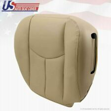 Passenger Bottom Seat Cover Light Tan power cut 2003 - 2006 Chevy Tahoe Suburban
