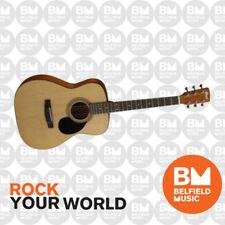 Cort AF510 Acoustic Guitar Folk Size Natural Satin Finish AF-510 -Belfield Musis