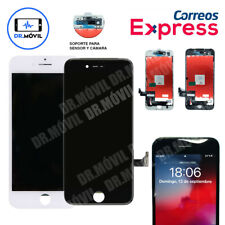 "Pantalla LCD para iPhone 7 7G Blanca Negra 4,7"" Táctil Completa Blanco Negro 24h"