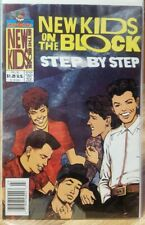 Harvey Rockomics New Kids On The Block Step By Step Fall of 1990 NM-MINT
