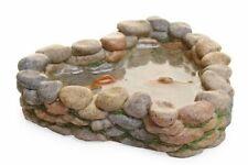 Miniature Dollhouse Fairy Garden - Stone Koi Pond - Accessories