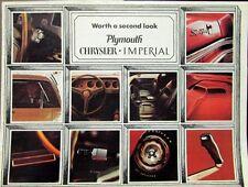 1970 Chrysler Plymouth Sales Brochure Rapid Transit System Cuda GTX Duster